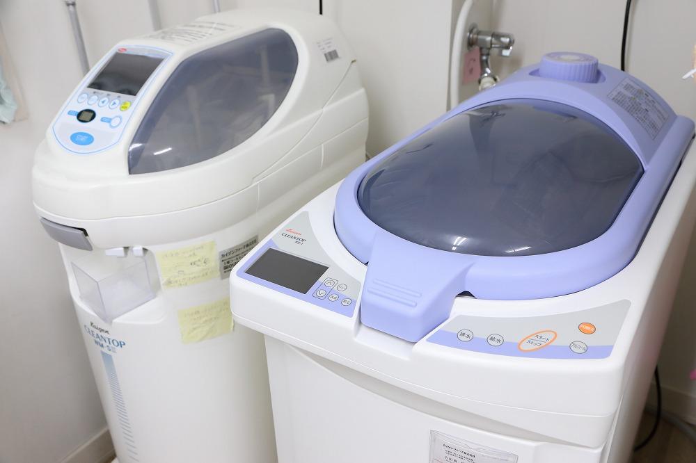 安全で清潔な内視鏡洗浄器