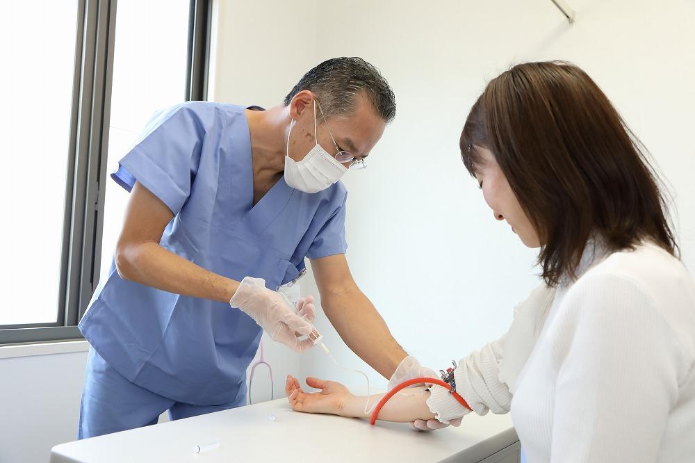 苦痛を軽減した検査(鎮静剤・鎮痛剤の使用)