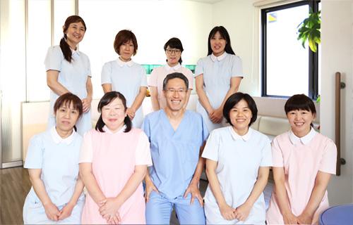 経験豊富なスタッフが安心の医療を提供いたします