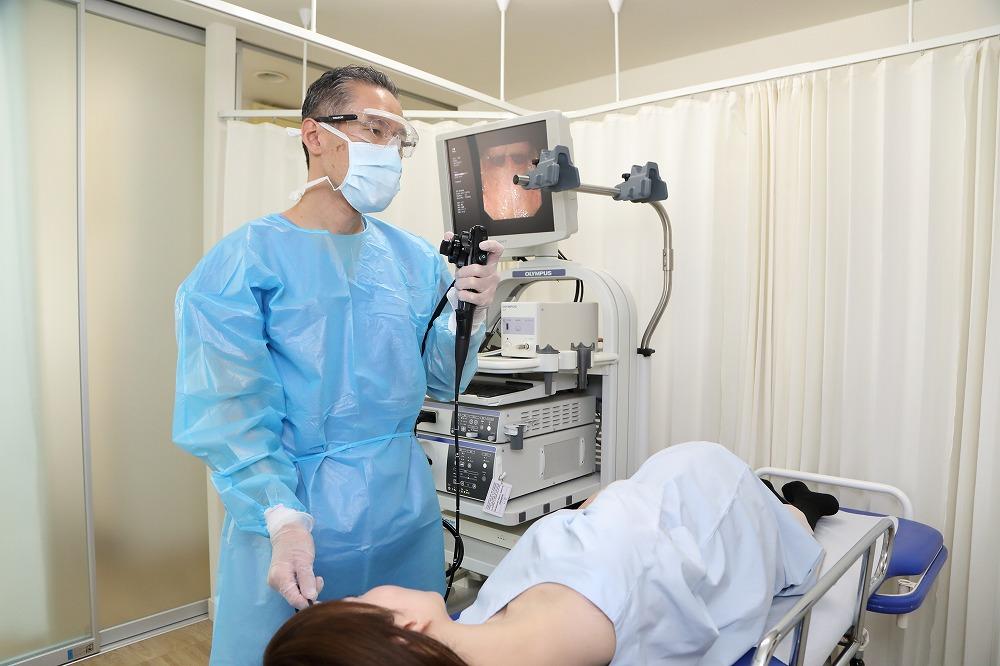 内視鏡検査及びX線検査(レントゲン検査)