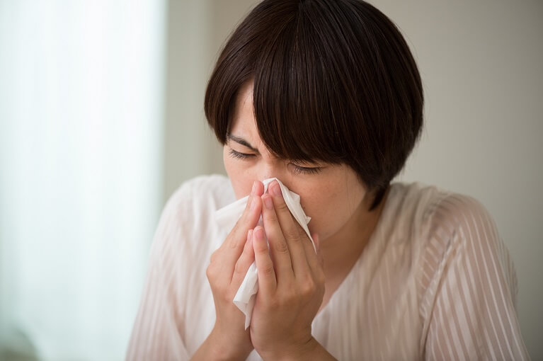 鼻水(はなみず)の症状