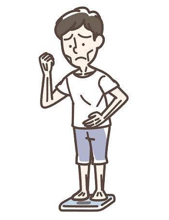 体重減少と受診のタイミング